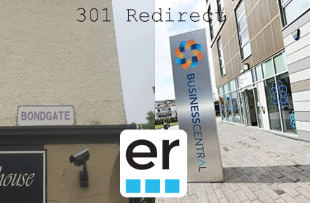 301 redirect from forth street to generator studios