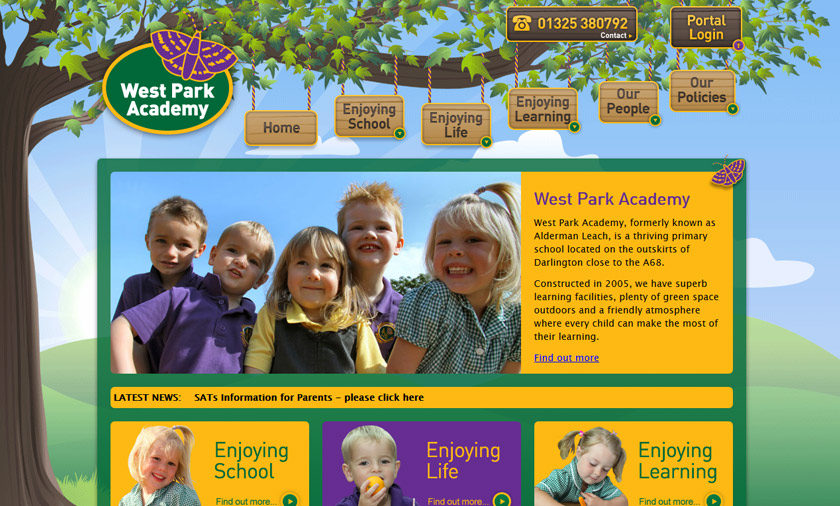 New site built for West Park Academy