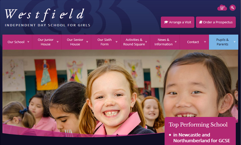New School web site is Top Class