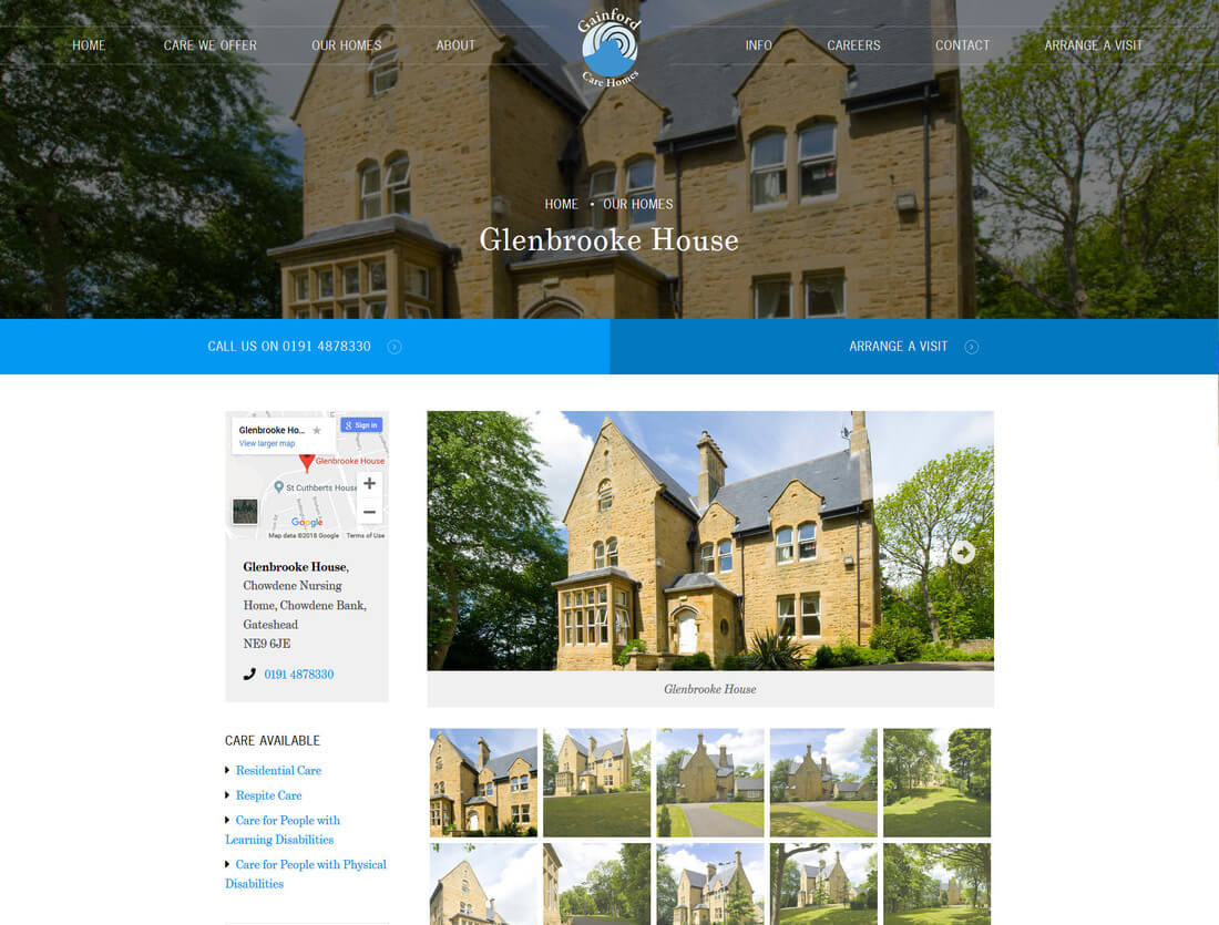 Gainford Care Homes