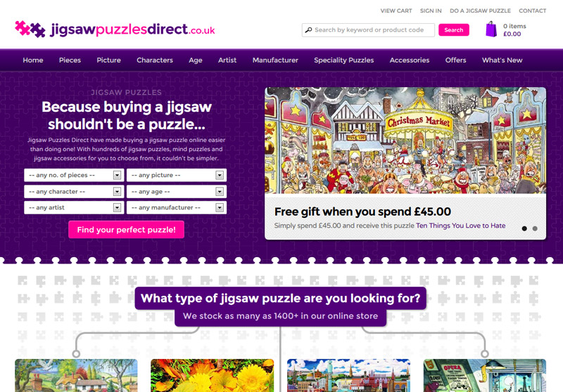 Jigsaw Puzzles Direct