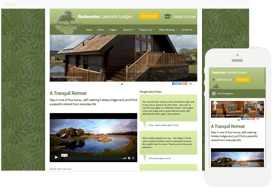 Redewater Lakeside Lodges